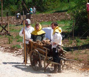 Les bénévoles et stagiaires du chantier Montcornelles