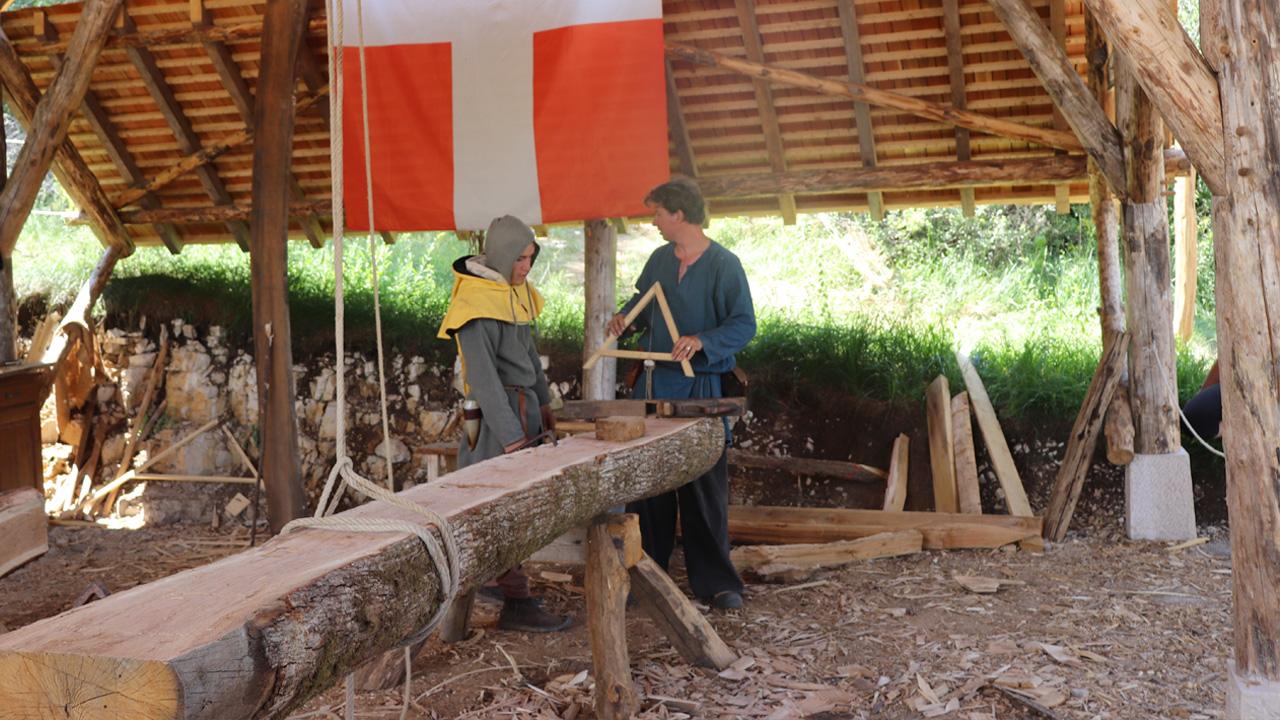 Experimentation loge des charpentiers