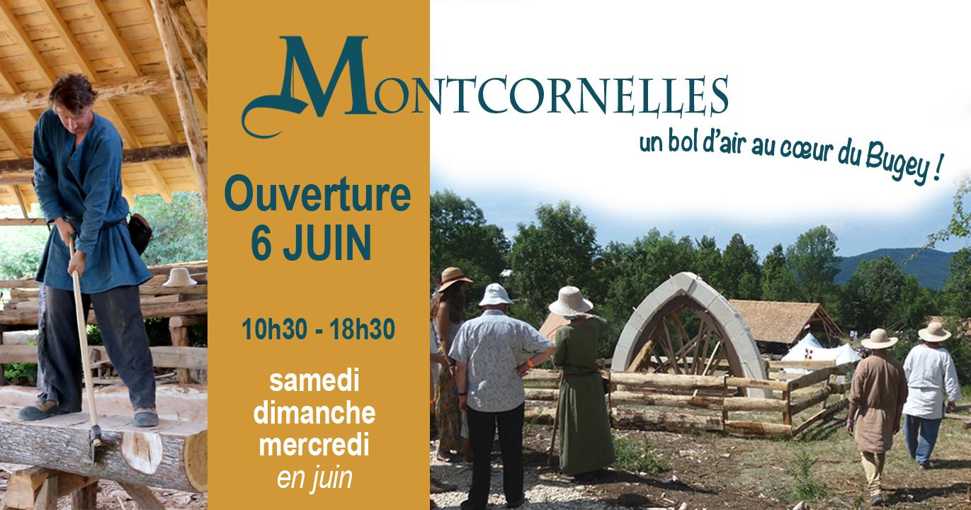 Montcornelles ouverture 2020 chantier médiéval du Bugey