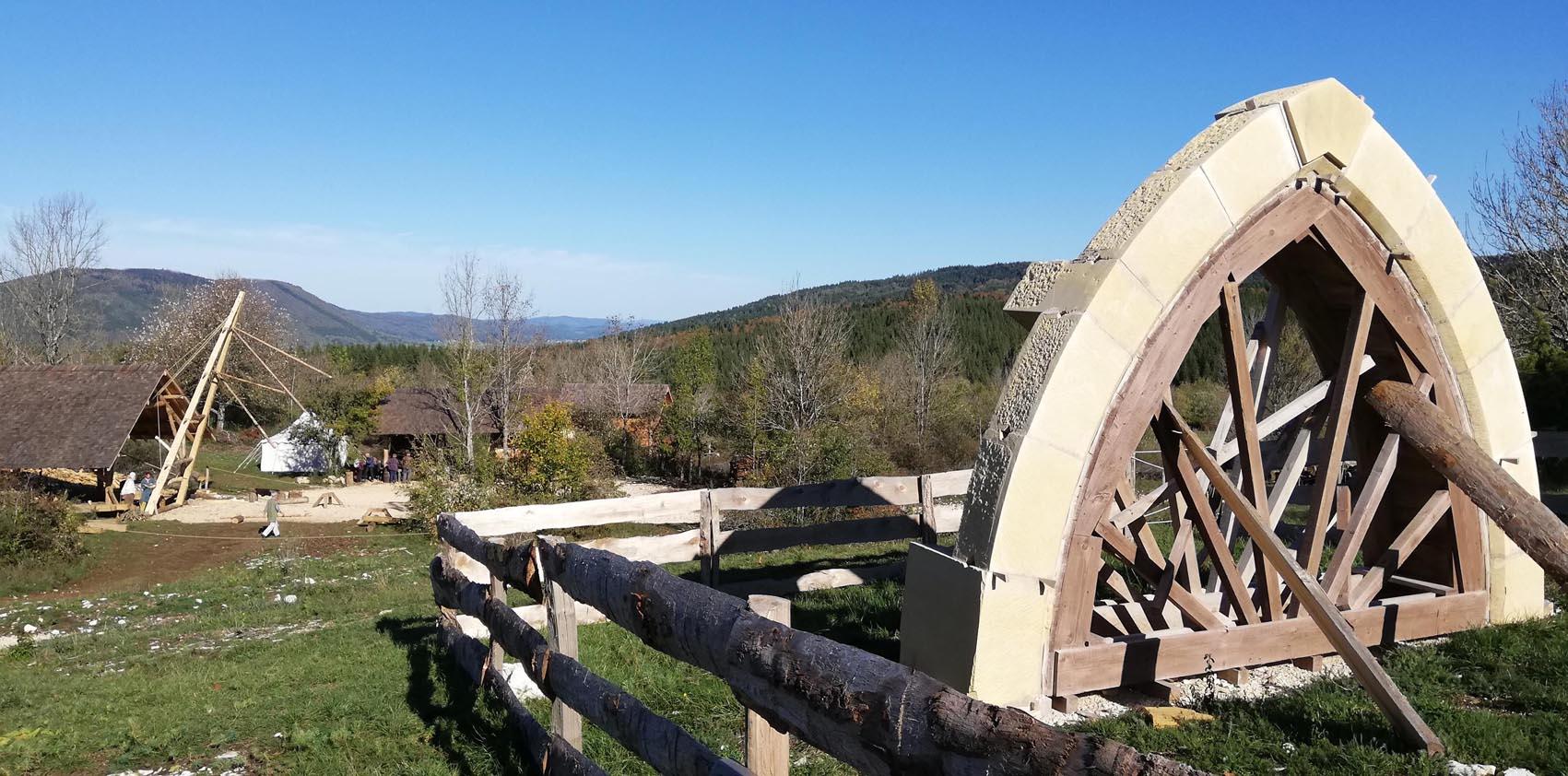 Vue depuis le site de Montcornelles
