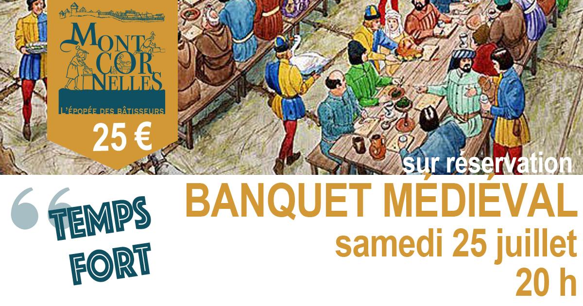 Montcornelles annonce banquet 25 juillet