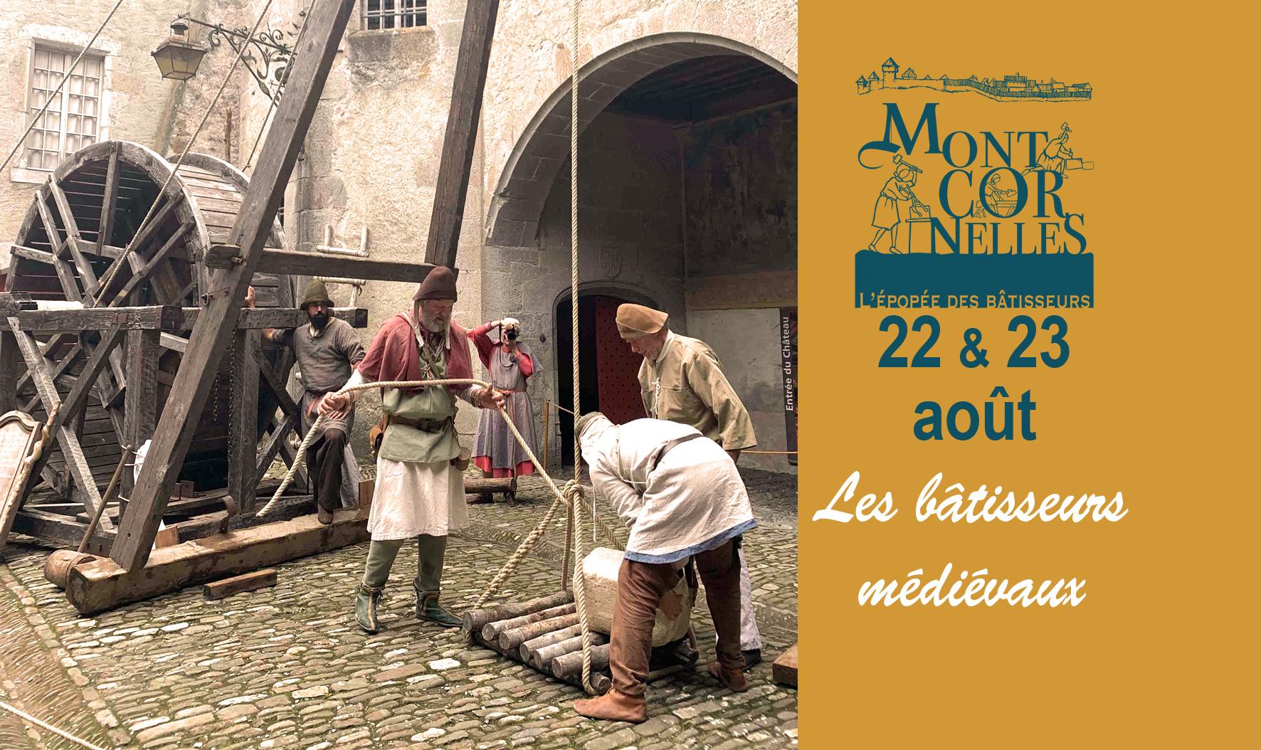 Montcornelles bâtisseurs médiévaux