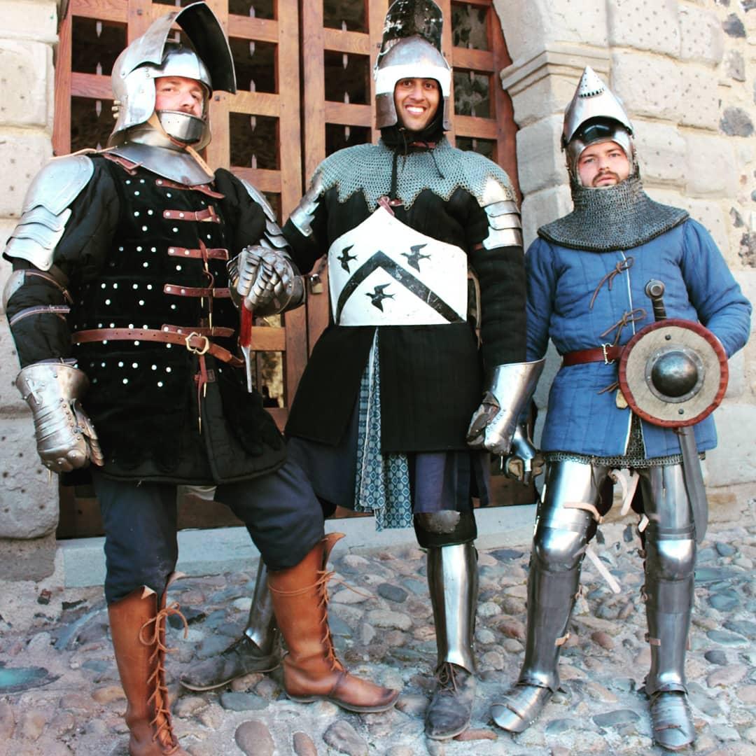 Montcornelles campement guilde perougienne